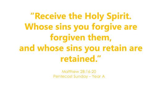 Pentecost Sunday – May 31, 2020