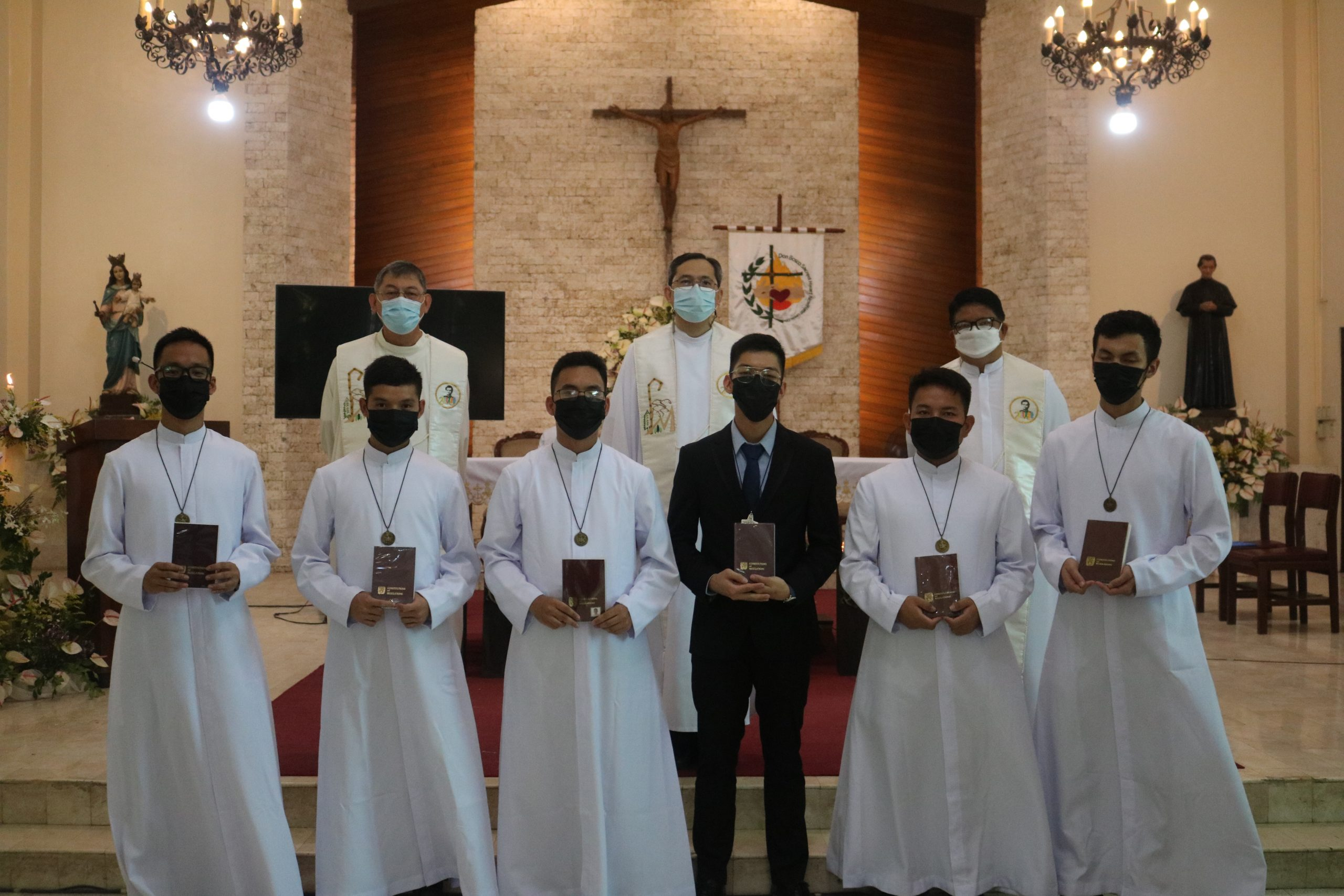 """""""My Grace is enough for you."""" (1 Cor. 12:9): Six new Salesians vow to make First Profession"""